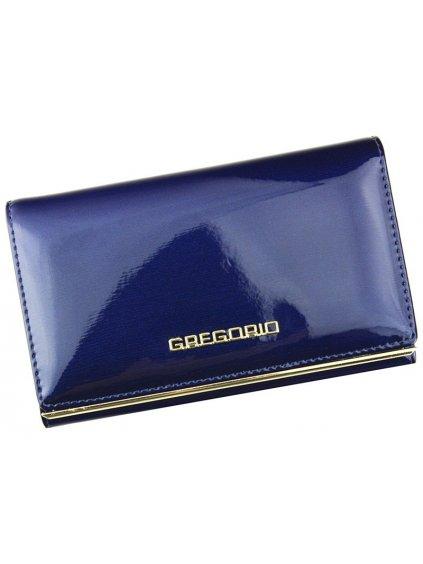 Dámská kožená peněženka Gregorio ZLL-112 modrá