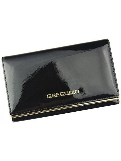 Dámská kožená peněženka Gregorio ZLL-112 černá
