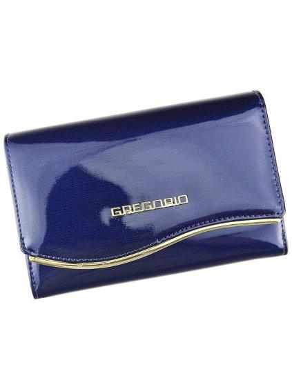 Dámská kožená peněženka Gregorio ZLF-101 modrá