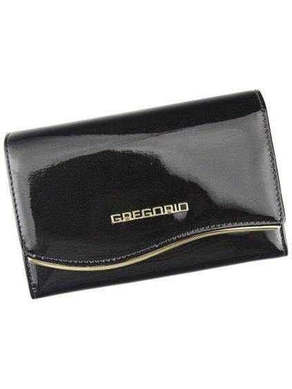 Dámská kožená peněženka Gregorio ZLF-101 černá