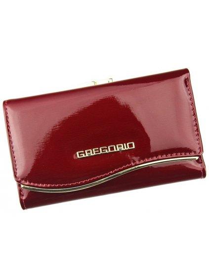 Dámská kožená peněženka Gregorio ZLF-108 červená