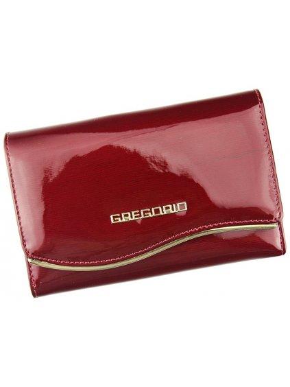 Dámská kožená peněženka Gregorio ZLF-112 červená