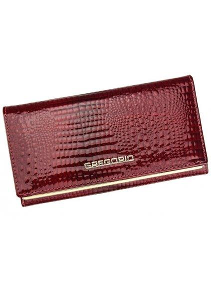 Dámská kožená peněženka Gregorio SLL-114 červená