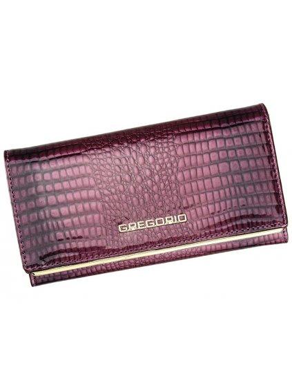 Dámská kožená peněženka Gregorio SLL-114 fialová
