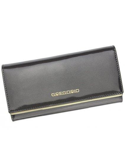 Dámská kožená peněženka Gregorio ZLL-100 šedá
