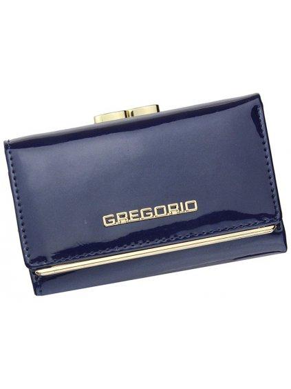 Dámská kožená peněženka Gregorio ZLL-117 modrá
