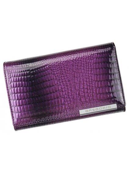 Dámská kožená peněženka Gregorio GF101 fialová