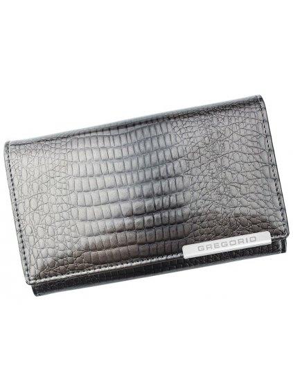 Dámská kožená peněženka Gregorio GF101 šedá