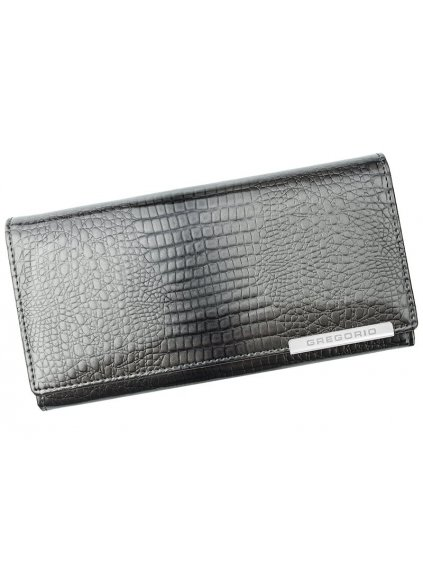 Dámská kožená peněženka Gregorio GF-106 šedá
