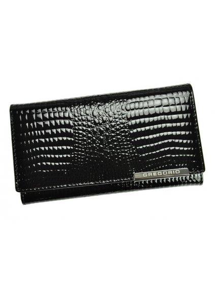 Dámská kožená peněženka Gregorio GF114 černá