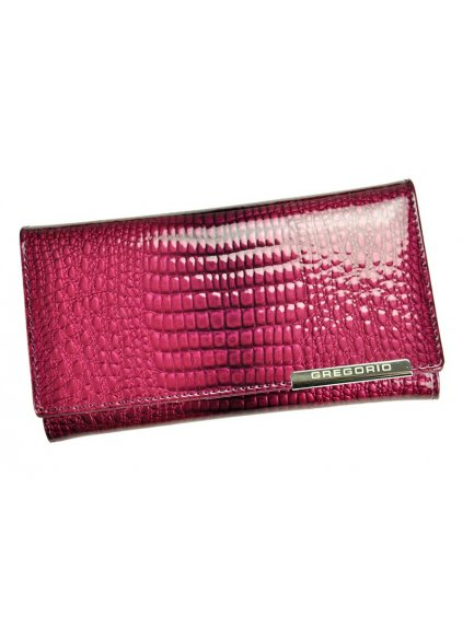 Dámská kožená peněženka Gregorio GF114 fialová