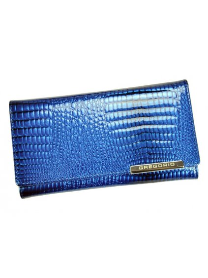Dámská kožená peněženka Gregorio GF114 modrá