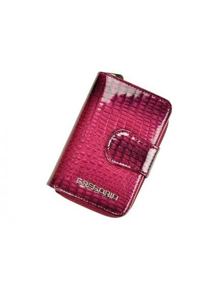 Dámská kožená peněženka Gregorio GF115 fialová
