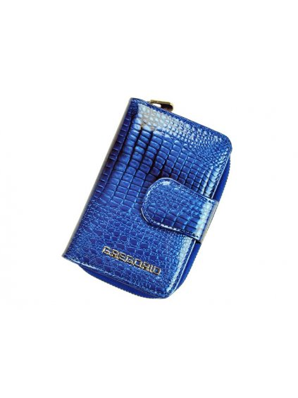 Dámská kožená peněženka Gregorio GF115 modrá