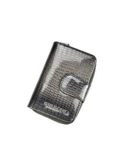 Dámská kožená peněženka Gregorio GF115 šedá