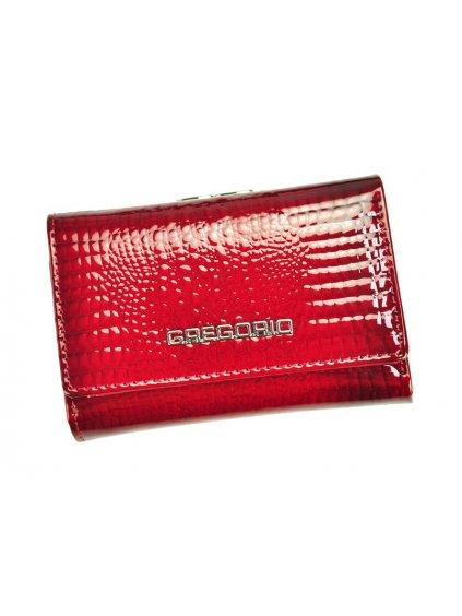 Dámská kožená peněženka Gregorio GF-117 červená