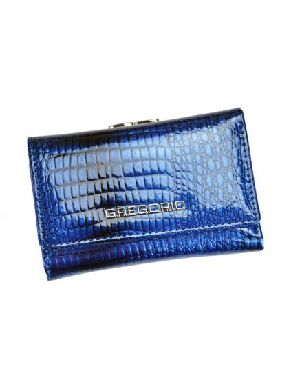 Dámská kožená peněženka Gregorio GF-117 modrá