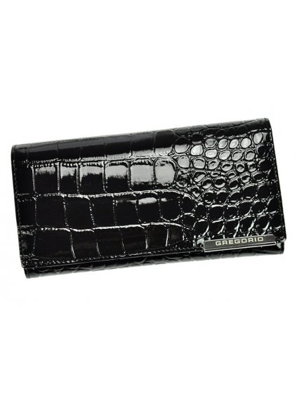 Dámská kožená peněženka Gregorio BC-102 černá