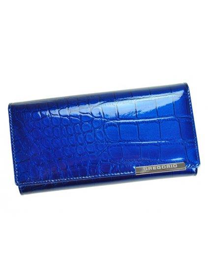 Dámská kožená peněženka Gregorio BC-102 modrá