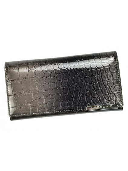 Dámská kožená peněženka Gregorio BC-102 šedá