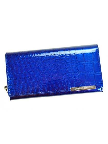 Dámská kožená peněženka Gregorio BC-106 modrá