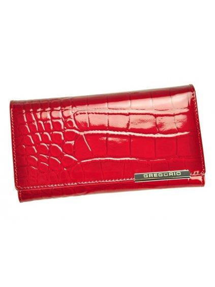 Dámská kožená peněženka Gregorio BC-114 červená