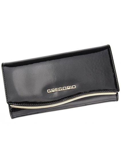 Dámská kožená peněženka Gregorio ZLF-106 černá