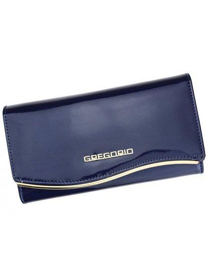 Dámská kožená peněženka Gregorio ZLF-114 modrá