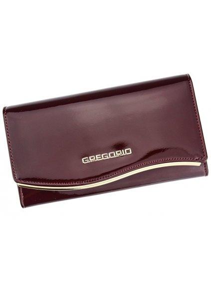 Dámská kožená peněženka Gregorio ZLF-114 červená