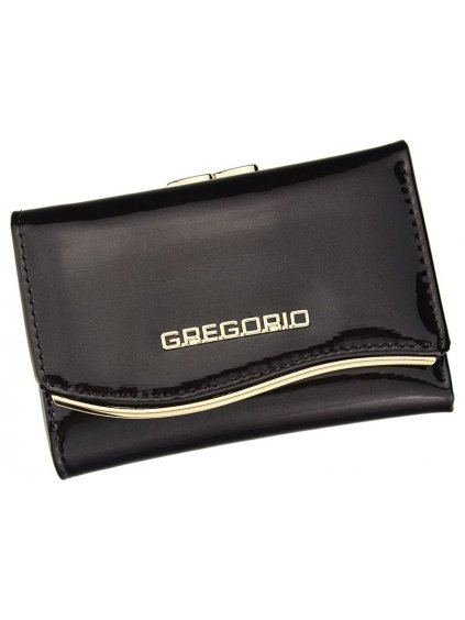 Dámská kožená peněženka Gregorio ZLF-117 tmavě hnědá