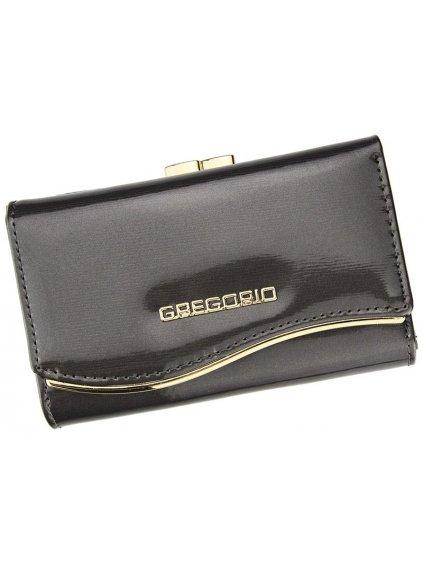 Dámská kožená peněženka Gregorio ZLF-108 šedá