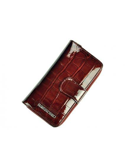 Dámská kožená peněženka Gregorio BC-116 tmavě hnědá