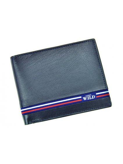 Pánská kožená peněženka Cavaldi Wild N992-GV modrá