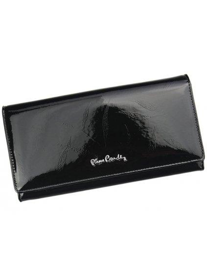 Dámská kožená peněženka Pierre Cardin 02 LEAF 100 černá