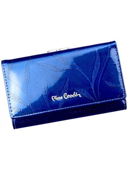 Dámská kožená peněženka Pierre Cardin 02 LEAF 108 modrá