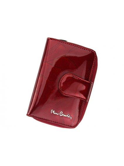 Dámská kožená peněženka Pierre Cardin 02 LEAF 115 červená