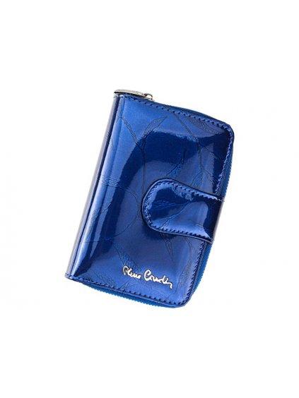 Dámská kožená peněženka Pierre Cardin 02 LEAF 115 modrá