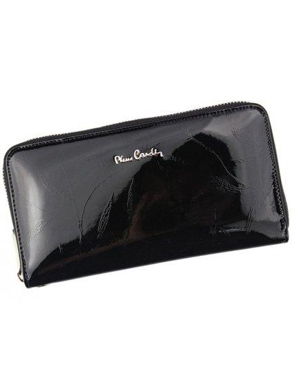 Dámská kožená peněženka Pierre Cardin 02 LEAF 119 černá
