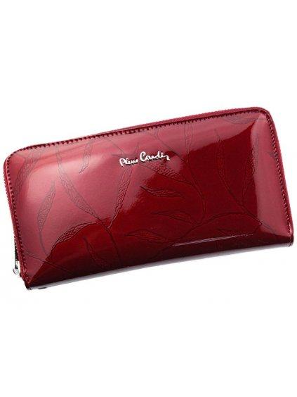 Dámská kožená peněženka Pierre Cardin 02 LEAF 119 červená