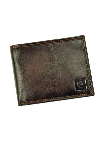 Pánská kožená peněženka Pierre Cardin LUKAS05 8806 tmavě hnědá