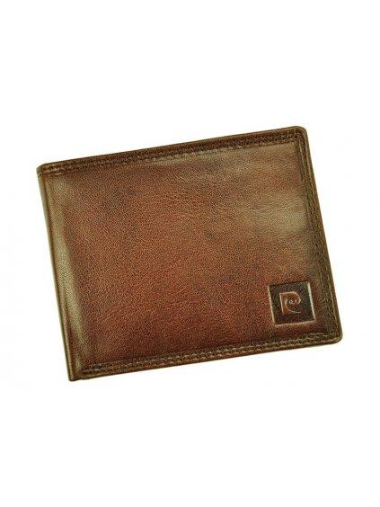 Pánská kožená peněženka Pierre Cardin LUKAS05 8806 hnědá