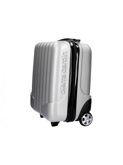 Cestovní kufr Pierre Cardin 1650 DIBAI03 CAB stříbrný