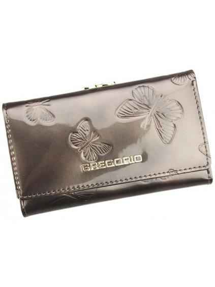 Dámská kožená peněženka Gregorio BT-108 šedá