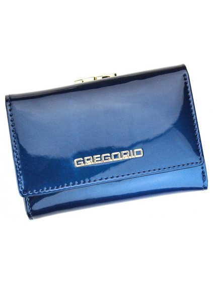 Dámská kožená peněženka Gregorio SH-117 modrá