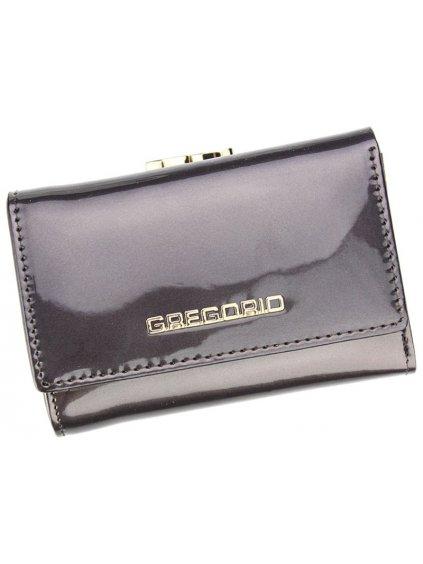 Dámská kožená peněženka Gregorio SH-117 šedá