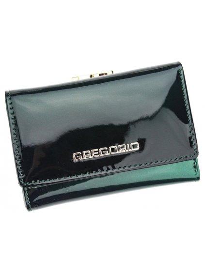 Dámská kožená peněženka Gregorio SH-117 zelená