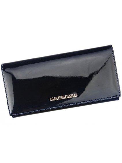 Dámská kožená peněženka Gregorio SH-102 modrá