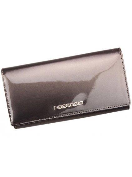 Dámská kožená peněženka Gregorio SH-102 šedá