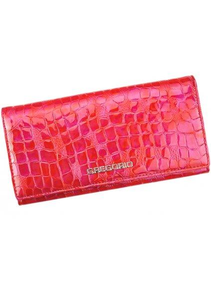 Dámská kožená peněženka Gregorio FS-100 červená