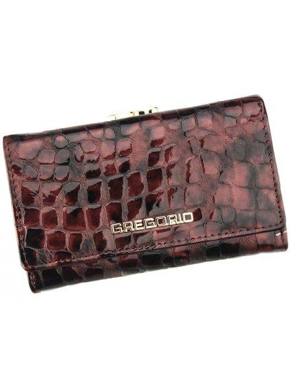 Dámská kožená peněženka Gregorio FS-108 světle fialová